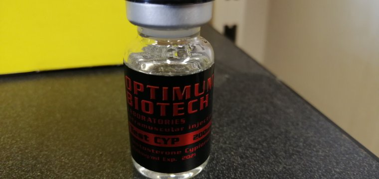 Optimum Biotech Test CYP Lab Test Results